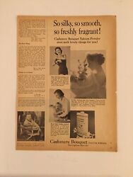 Vintage Magazine Print Ad Ads Cashmere Bouquet Soap Photoplay May 1958
