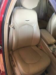 Off08 Cadillac Cts Right Front Seat Opt Al2/kb6 Tan Trim Code= 39i Heated Cooled