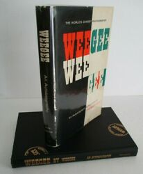 Weegee By Weegee An Autobiography 1961 1st Ed In Dj Inscribed And Signed