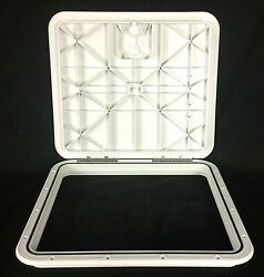 Innovative Product Solutions 16 X 18 Polar White Boat Deck Hatch 520-725