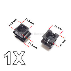 1x Engine Undertray Cover Clip, Lower Guard Panel Retainer, For Audi, Vw, Seat