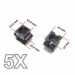 5x Engine Undertray Cover Clips, Lower Guard Panel Retainer, For Audi, Vw, Seat
