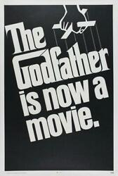 Vintage The Godfather Movie Poster// Classic Movie Poster//movie Poster//poster