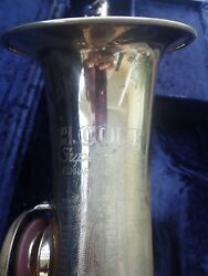 VINTAGE H. COUF SUPERBA I TENOR SAXOPHONE WITH NEW PADS + ORIGINAL CASE -GROVER!