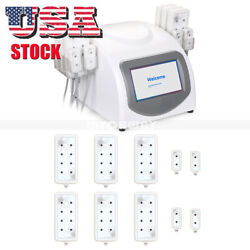 US Ship 5mw LED Light Therapy LLLT 10 Pads Weight Loss Body Shaping Machine