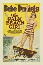 The Palm Beach Girl Poster//the Palm Beach Girl Movie Poster//movie Poster//post