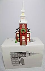 Dept 56 Heritage Village New England Old North Church Collection Cottage