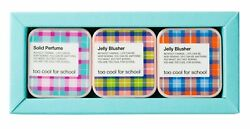 3 Too Cool For School Check Jelly Blusher Solid Perfume Cherry Squeeze Apple Red $18.90