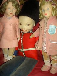 Rare 1938 32 Norah Wellings Land039bd. English Palace Queenand039s Guard Doll K 44 Xlnt