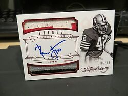 Panini Flawless Ruby Autograph Jersey Greats 49ers Auto Ronnie Lott 06/15 2014