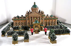 New Low Number Dept 56 58336 Ramsford Palace Set 17 Heritage Christmas Village