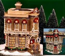 New Dept 56 58484 Brightsmith And Sons Queen Jeweller Shop Store Christmas Village