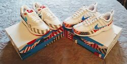 Nike Air Zoom Spiridon Parra And Nike Air Max 1 Size 8 White Multi-color Bundle