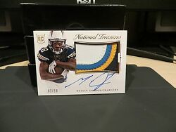 National Treasures Rookie Autograph Jersey Chargers Melvin Gordon 02/10 2015