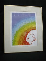 Rainbow In Blossom - Signed And Numbered Limited Edition 1977 Serigraph By Erte