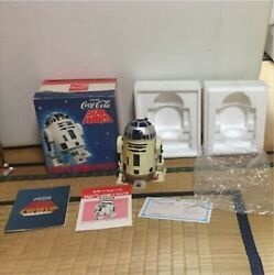 Coca-cola And Star Wars R2-d2 Am Radio 1977 Working W/box Paper Used Very Rare