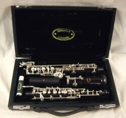 Howarth S20c Conservatory Wood Oboe Left Hand F Low Bb Third Octave Key Nice