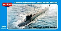 Mikromir 350-007 Nuclear Deep-water Station Project 1910 1/350 Scale Model Kit