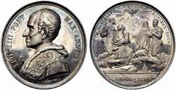 Italy Vatican Medal 1882 - Leo Xiii Proof Silver Spink882 Rrr
