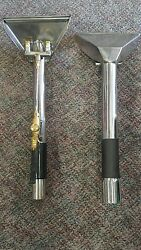 Stainless Steel Dual Jet Carpet Cleaning Stair Tool New Quantity 1.5