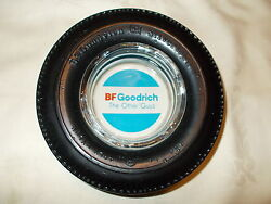 Bf Goodrich Silvertown Tire Ashtray No Chips Or Cracks
