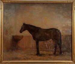 John Frost (American1890-1937) Exceptional Original Oil Painting