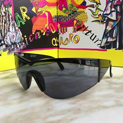 Gianni Versace Sunglasses Update 674 Col. 852 Bk Black With Case
