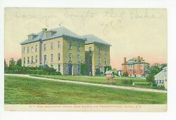 Ny State Experimental Station—dairy Building And President's House Geneva 1909
