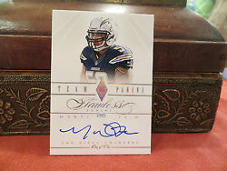 Panini Flawless Autograph Team Panini Chargers Manti T'eo 1/1 One Of One 2014