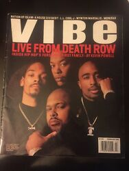 Live From Death Row - Vibe Mag February 1996 - Rare Tupac,snoop, Dr Dre, Knight