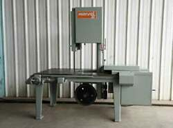 Armstrong/Marvel Vertical Band Saw, Capacity 18