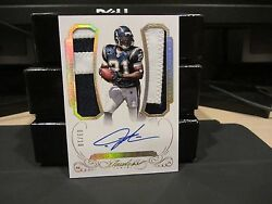 Panini Flawless Gold Autograph Jersey Chargers Ladainian Tomlinson 09/10 2015