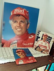 Hydroplane Boat Driver Tom D'eath Miss Budweiser Lot Of 3 Photos 1988 3 Sizes