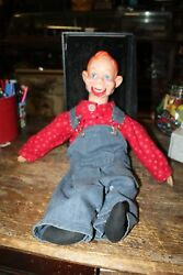 Vintage Howdy Doody Ventriloquist Dummy Doll 1972 Eegee National Broadcasting Co
