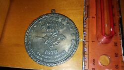 1976 1776 Bicentennial U.s. Postal Service Commemorative Medal With Stamp Look
