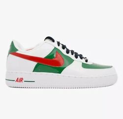 Nike Air Force 1 Prm Mexico 🇲🇽 World Cup White Green Red Shoes Mens 7.5 Shoes