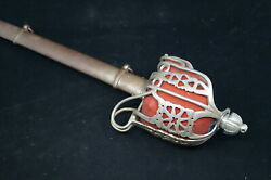 Ww1 Ww2 British Scottish Royal Scots Fusiliers Highland Officers Sword