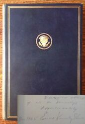 John F Kennedy / Profiles In Courage The Memorial Edition Signed 1964