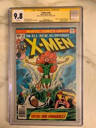 The X-Men #101 CGC 9.8 SS STAN LEE 1st App of Phoenix