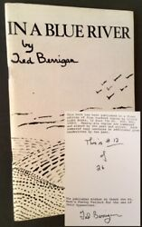Ted Berrigan / In A Blue River First Edition 1981