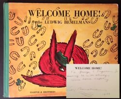 After A., Beverley Bogert / Welcome Home Signed 1st Edition 1960