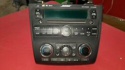 2007-2012 NISSAN ALTIMA 2.5 SL CLIMATE CONTROLS.RADIO PLAYER 28185-JA110