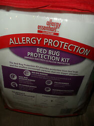 AllerEase Allergy Bed Bug Protection Kit XL Twin Dorm Room Pillow NEW
