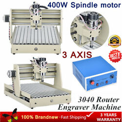 3040 CNC Router Engraver Engraving Milling Drilling Machine 3 AXIS 400W Spindle