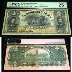 1898 1 Dc-13a Dominion Of Canada Pmg 25 - Inward -most Desirable In The Series