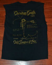 CHRISTIAN DEATH T-SHIRT 1334  MEN'S SIZE S