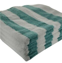 4 pieces Pack Blue Brown 30x60 inches Large Pool Beach Cabana Towels $19.99