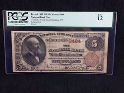 1882 5 Brown Back White River Junction Vermont Pcgs 12 Ch3484