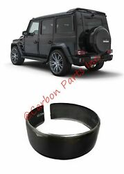 W463 Carbon Fiber Rear Spare Wheel Tire Ring Cover Mercedes G-class All Years