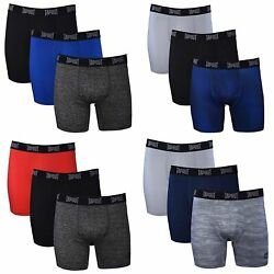 Tapout Mens Performance Boxer Briefs - 12-pack Athletic Fit Breathable Up To 5x